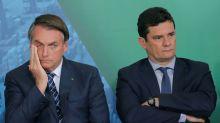 Em mensagem, Bolsonaro disse a Moro que tivesse 'dignidade de se demitir'