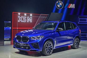品牌最強休旅報到!全新BMW X5 M售價688萬元在台上市