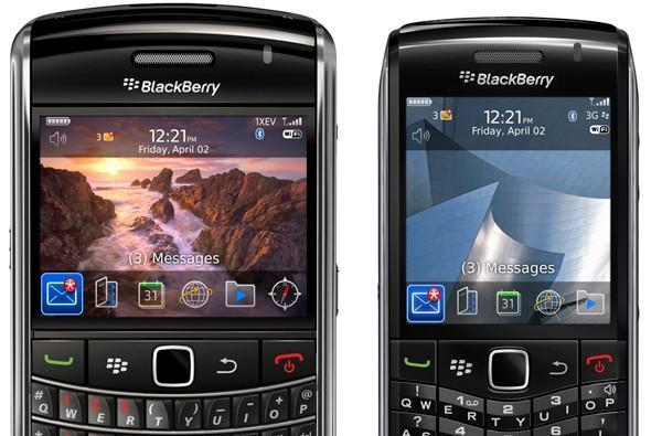BlackBerry Bold 9650 and Pearl 3G outed