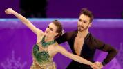 Ice dancer 'prayed' after wardrobe malfunction