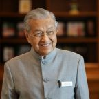 Ask 'old people' for advice, world's oldest PM says to the youngest