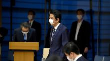 Abe's 'own goals' slash support rates even as Japan's coronavirus emergency set to be lifted