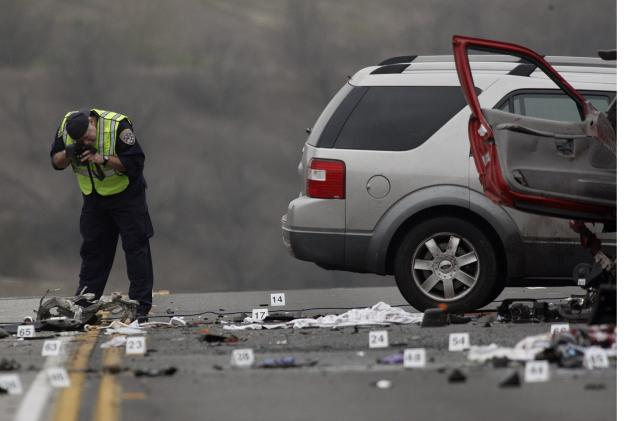 Study says road deaths could be cut in half if more safety tech were standard