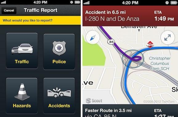 Telenav Scout for Phones to go 3D, get crowd-sourced traffic reporting in 2013