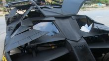 College student builds functional Batmobile from 'The Dark Knight'