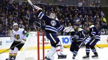 NHL roundup: Jackets shut out Knights
