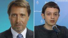 Disputa: el joven funcionario Lucas Grimson desmintió los dichos de Eduardo Feinmann sobre su sueldo