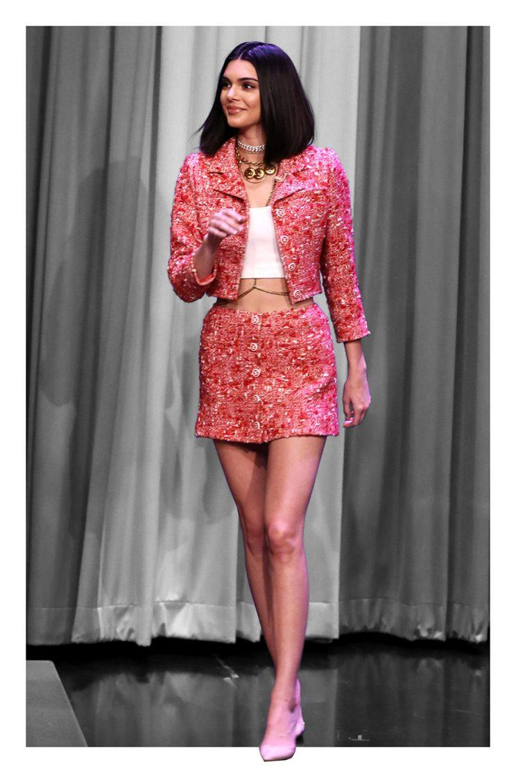 Kendall Jenner In Chanel Photo By Andrew Lipovsky Nbc Nbcu