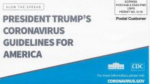 CDC Mails Out Coronavirus Flyer Featuring Trump's Name — In An Election Year