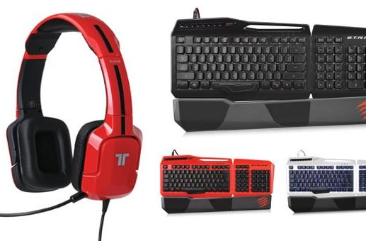 Mad Catz reveals four new gaming headsets, keyboard at E3