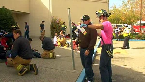 South Bay emergency responders conduct rave drill