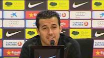 Pedro denies Messi-Tello rift