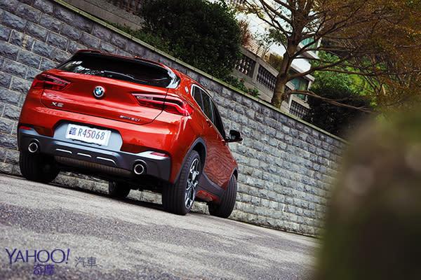 跨界身軀鋼砲魂!BMW X2 sDrive 20i M Sport X城郊試駕