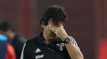 Mesmo eliminado, São Paulo vai manter Fernando Diniz