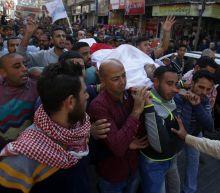 The Latest: Palestinian envoy: Egypt working on Gaza truce