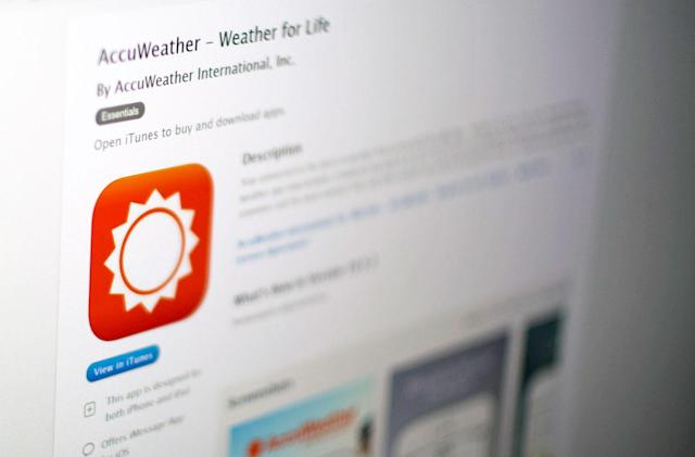 AccuWeather's iPhone app may track you even if you opt out (update)