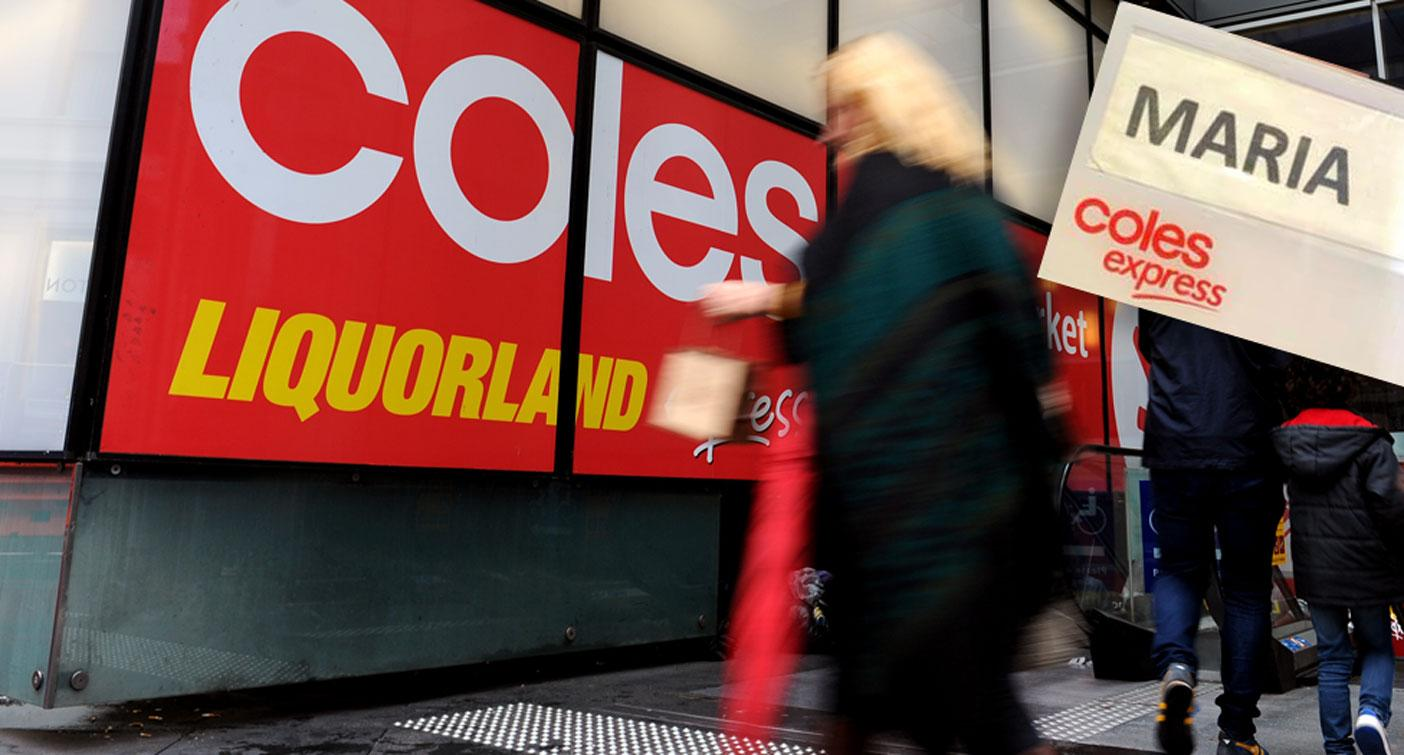 Coles Rainbow Name Tag Leaves Woman In Tears During Pride