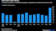 One Bond Market Quietly Set Records in Turbulent September