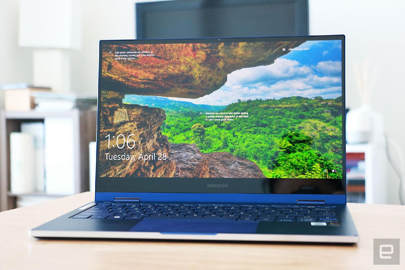 Galaxy Book Flex review: A pretty QLED laptop with a useful S Pen