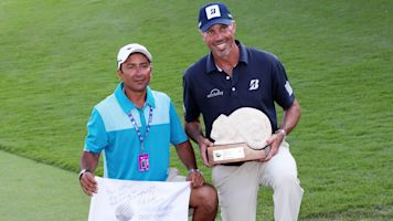 After Mayakoba rift, caddie not angry with Kuchar