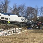 NTSB: Truck hit by GOP train was on tracks after warning