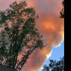River Fire Explodes in Size, Burning Homes and Prompting Evacuations