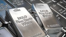 Silver prices plunge after hitting eight-year high