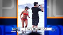 'Glee's' Lea Michele Opens Up About Hawaiian Vacation With Cory Monteith