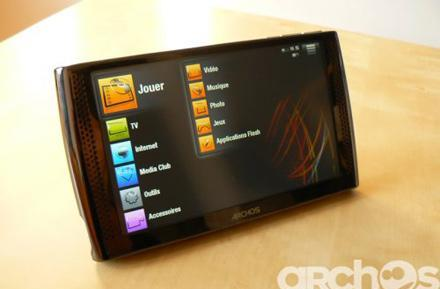 Archos 7 acquired in the wild, critiqued in French
