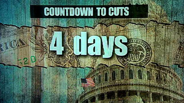 Sequester deadline looms just days away