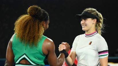 Genie Bouchard: la tenista eliminada del Abierto de Australia que guarda una conexión especial con sus fans