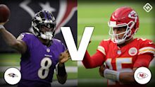 Chiefs vs. Ravens live score, updates, highlights from NFL's 'Monday Night Football' game