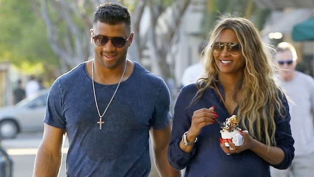 Ciara and Russell Wilson Match Outfits on Low Key Date
