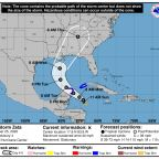 Tropical Storm Zeta forms with sights set on Gulf Coast, could be a hurricane by late Monday