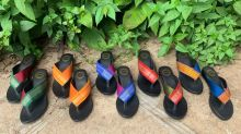 'Unusual but awesome': She makes sustainable footwear using tyres