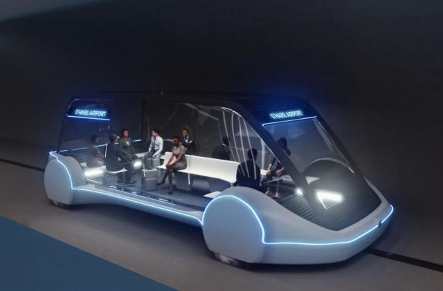 The Boring Company will build a rapid transit system to Dodger Stadium