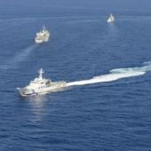China armed forces warn Japan against South China sea patrols