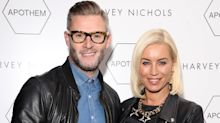 Denise Van Outen and Eddie Boxshall say therapy sessions have made them closer