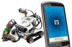 Lego's MINDroid Android app remotely controls Mindstorms NXT robots