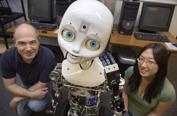 Nexi robot helps Northeastern University track effects of shifty body language (video)