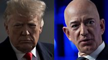 Amazon Cites Trump Bias at 'Enemy' Bezos in Cloud Deal Loss