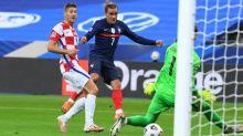 Foot - Bleus - Bleus: Antoine Griezmann égale Zinédine Zidane au nombre de buts