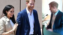 Prince Harry gushes about Meghan's pregnancy for the first time