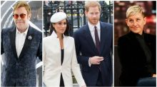 Hollywood stars band together to defend Meghan and Harry