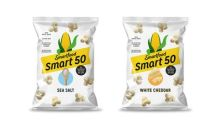 Smart50™ Pops Into Fall: Smartfood® Popcorn Launches New Snack At Just 50 Calories Per Cup