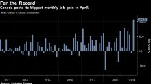 Record Job Gain Signals Canadian Economy Is Gathering Steam