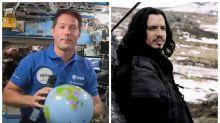 """Thomas Pesquet verra-t-il """"Kaamelott"""" en avant-première dans l'espace?"""