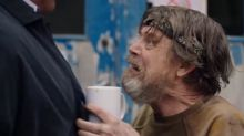 Star Wars legend Mark Hamill turns crazy cafe owner in surprise Man Down cameo