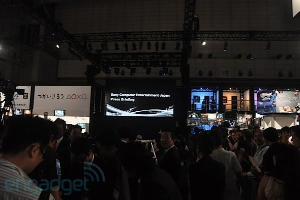Live from Sony's TGS 2010 press conference