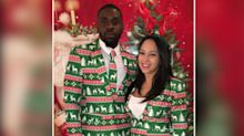 These ugly Christmas suits stand out this season